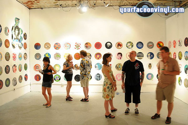 Vinyl art exhibition Detroit