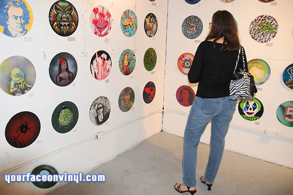 Funhouse gallery Detroit Vinyl Art exhibition